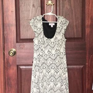 Scoop neck dress from Candie's
